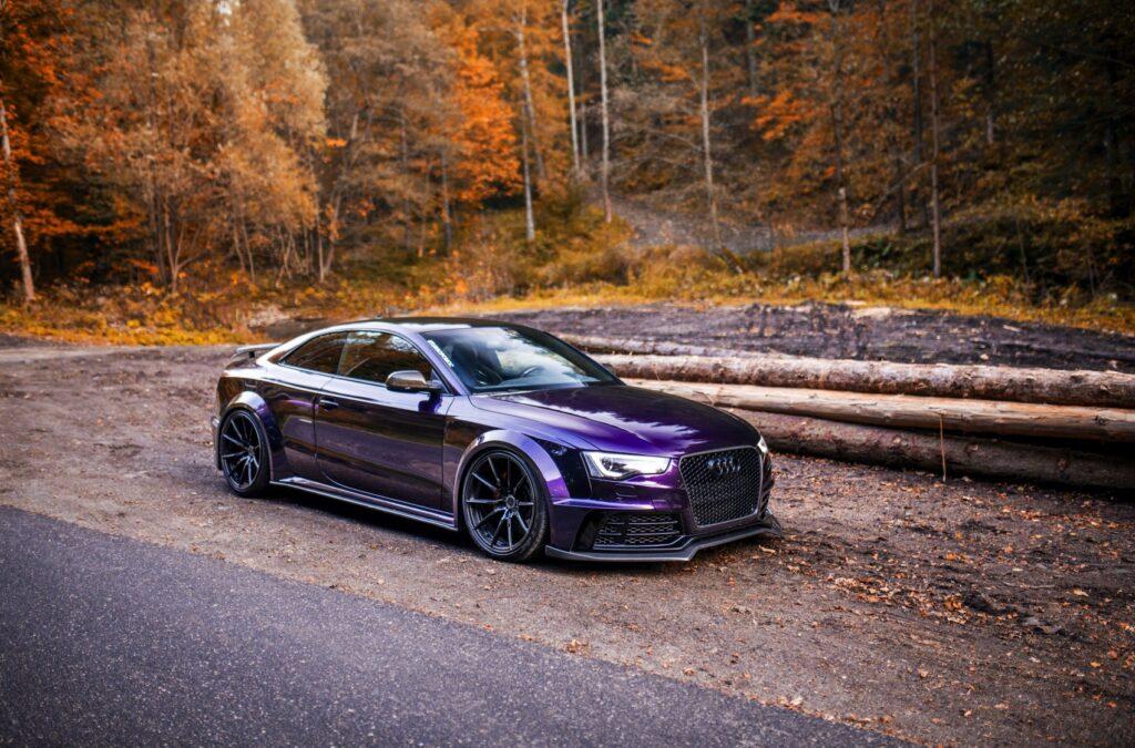 Supercharged Audi S5 SR66 widebody kit