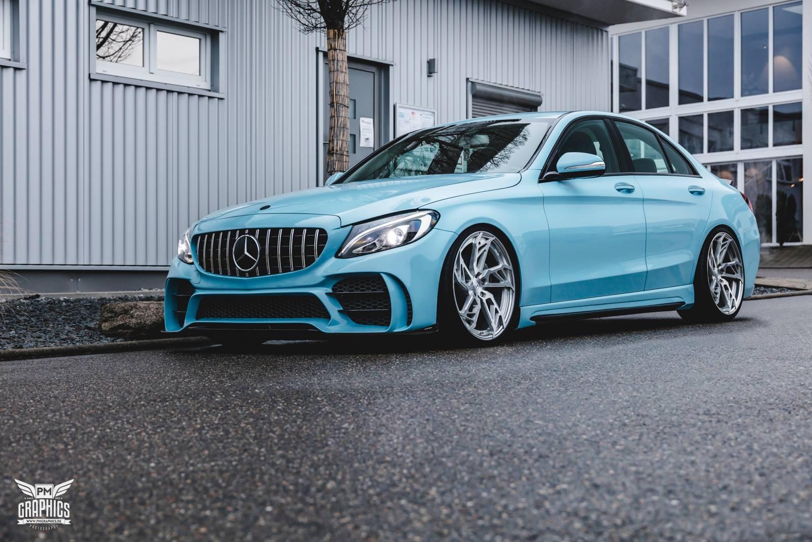 Mercedes-Benz C W205 SR66-R body kit