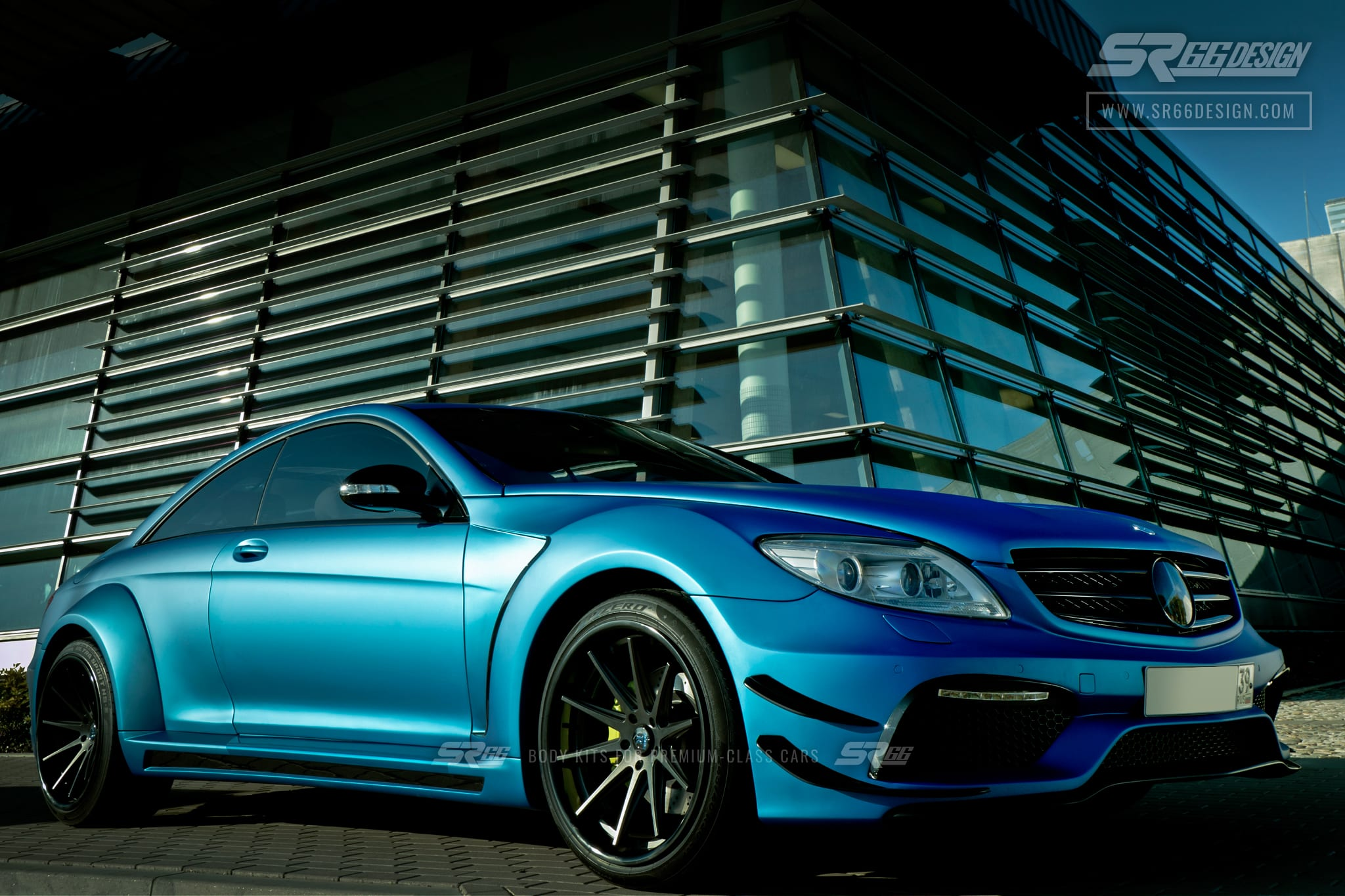 Mercedes-Benz CL C216 (W216) SR66 wide body kit