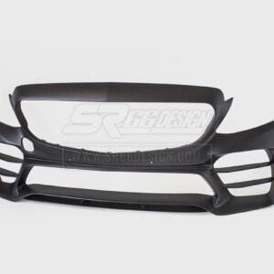 front bumper - Mercedes C W205 (saloon/sedan) SR66-R body kit