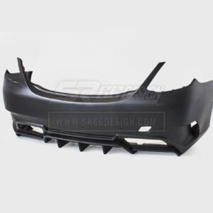 rear bumper - Mercedes C W205 (saloon/sedan) SR66-R body kit