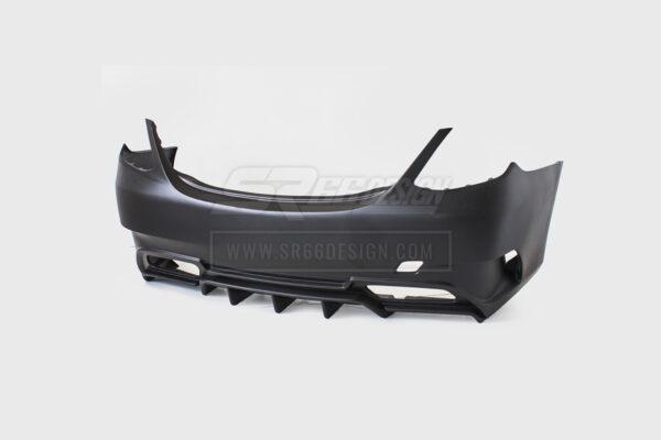 rear bumper - Mercedes C W205 (saloon/sedan) SR66-R body kit