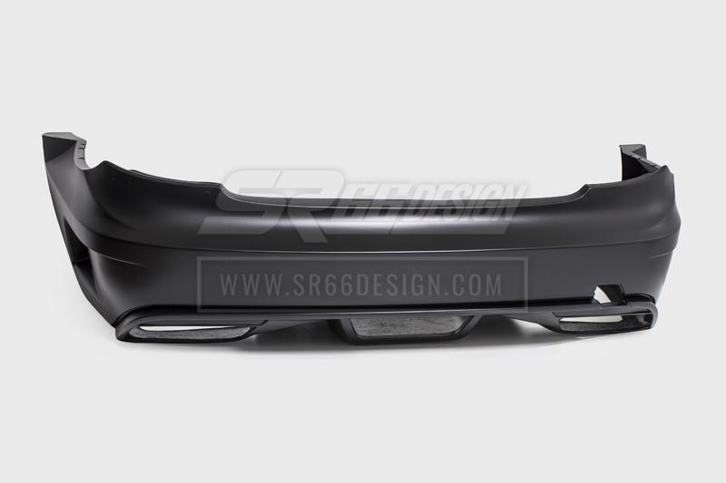 rear bumper - Mercedes CL C216 (W216) SR66 wide body kit