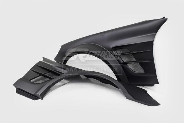 front fenders - Mercedes SL R230 SR66.1 wide body kit
