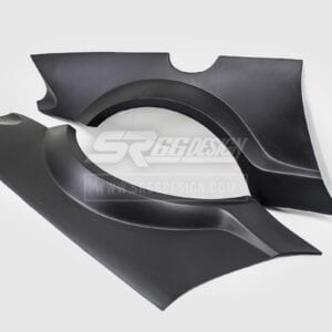 rear fender panels (rear quaters) - Mercedes SL R230 SR66.1 wide body kit