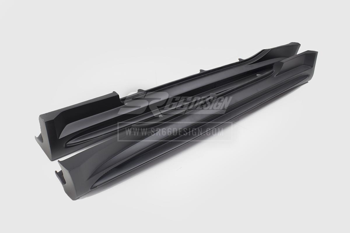 sideskirts - Mercedes SL R230 SR66.1 wide body kit