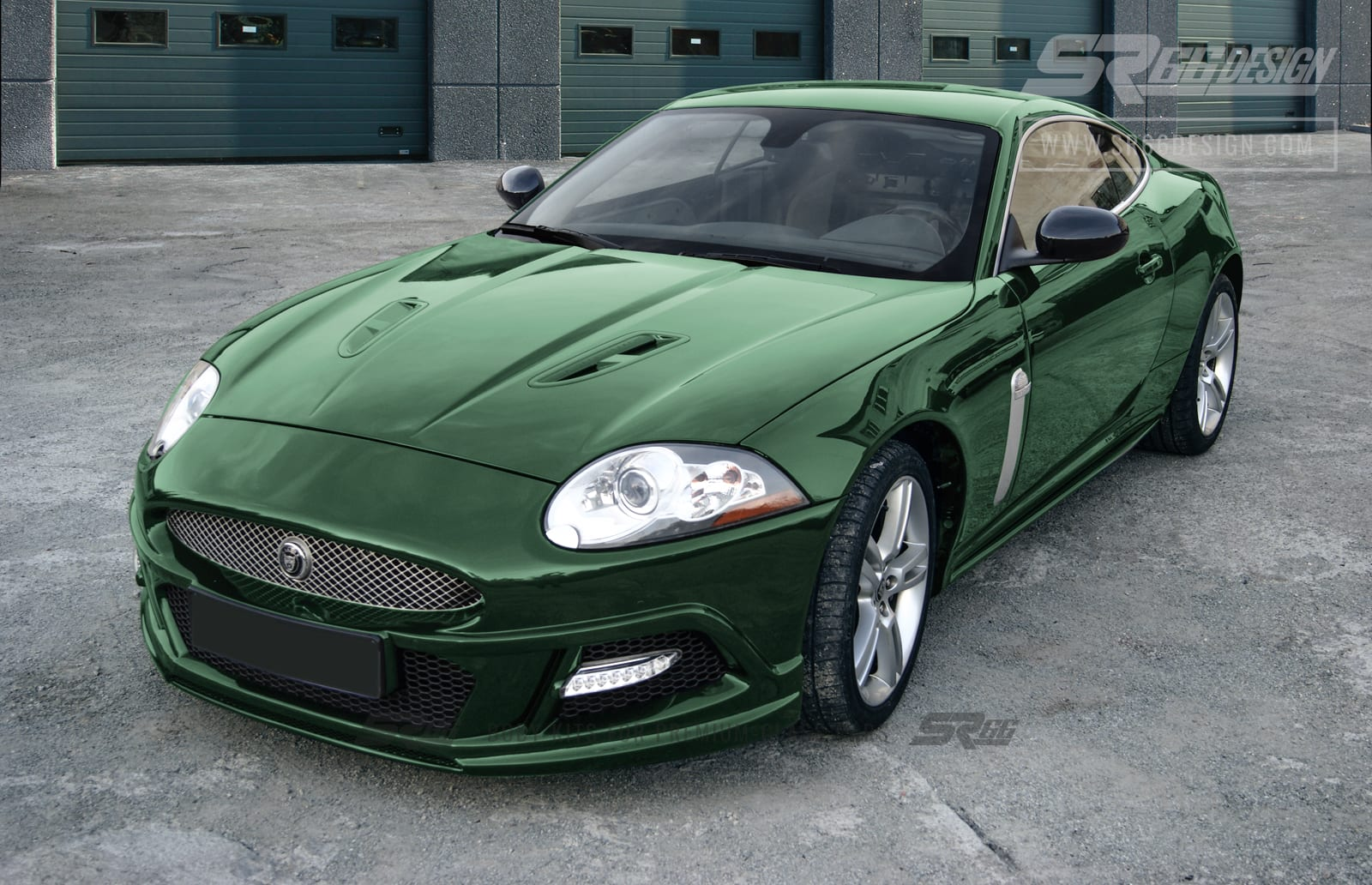Jaguar XK body kit SR66 Design