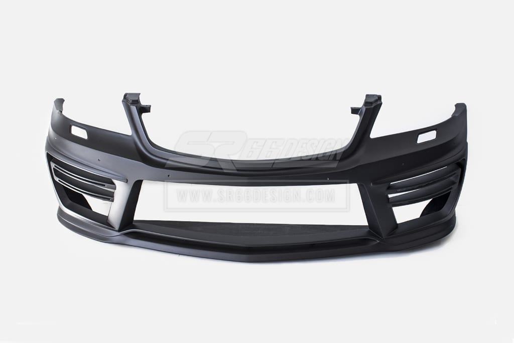 front bumper - Mercedes-Benz ML W164 SR66 wide body kit