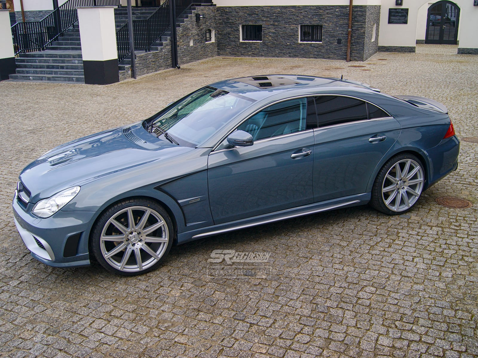Mercedes-Benz CLS W219 SR66 body kit