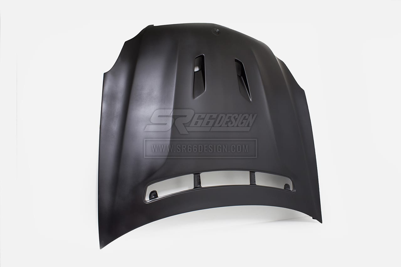 hood (bonnet) - Mercedes CLS W219 SR66 body kit
