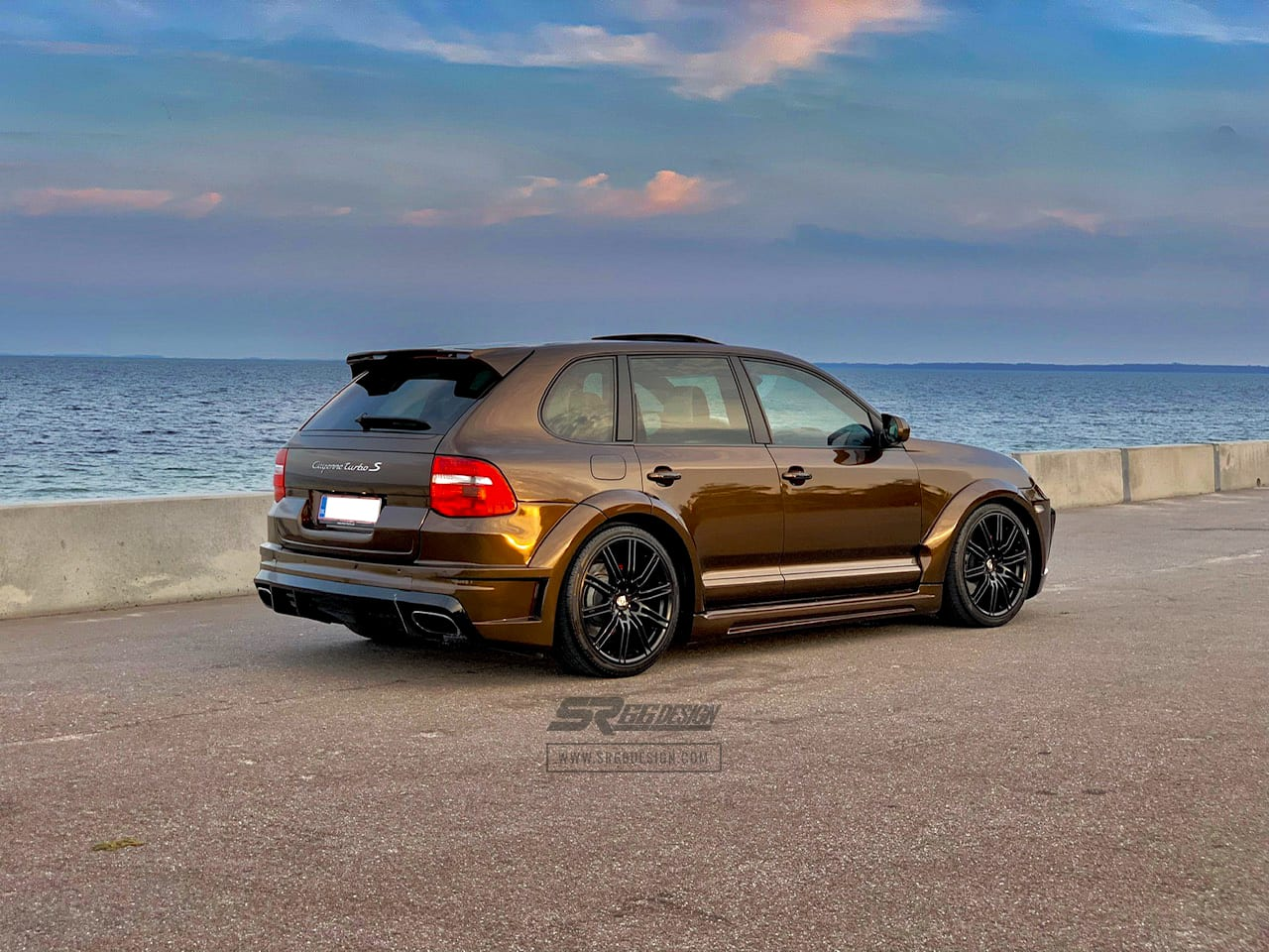 Porsche Cayenne 957 SR66.2 SR66 wide body kit