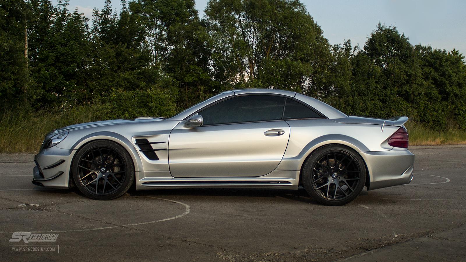 Mercedes-Benz SL R230 SR66.2 wide body kit