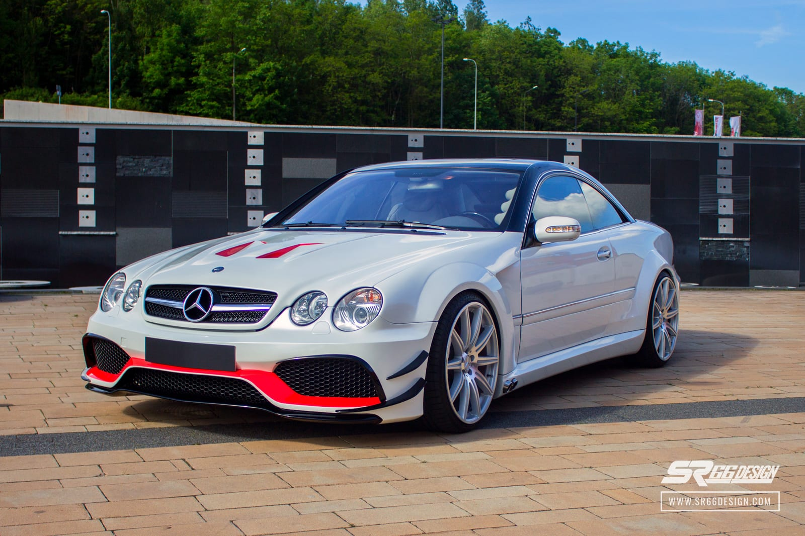 Mercedes-Benz CL C215 (W215) SR66 body kit