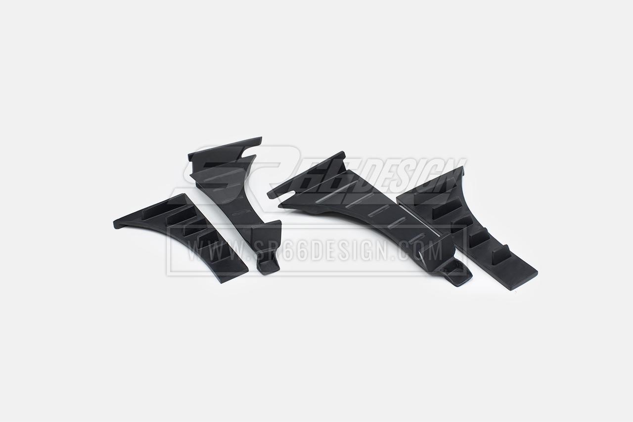 front fenders - Audi R8 SR66 wide body kit