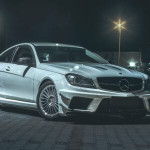 Mercedes-Benz C C204 wide body kit