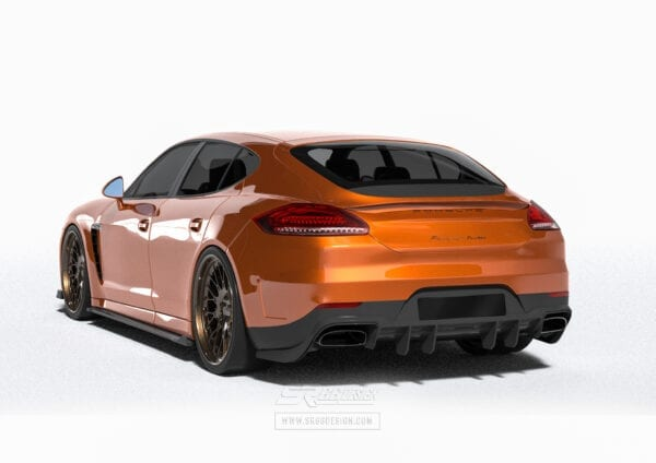 Porsche Panamera 970 SR66 body kit (narrow)
