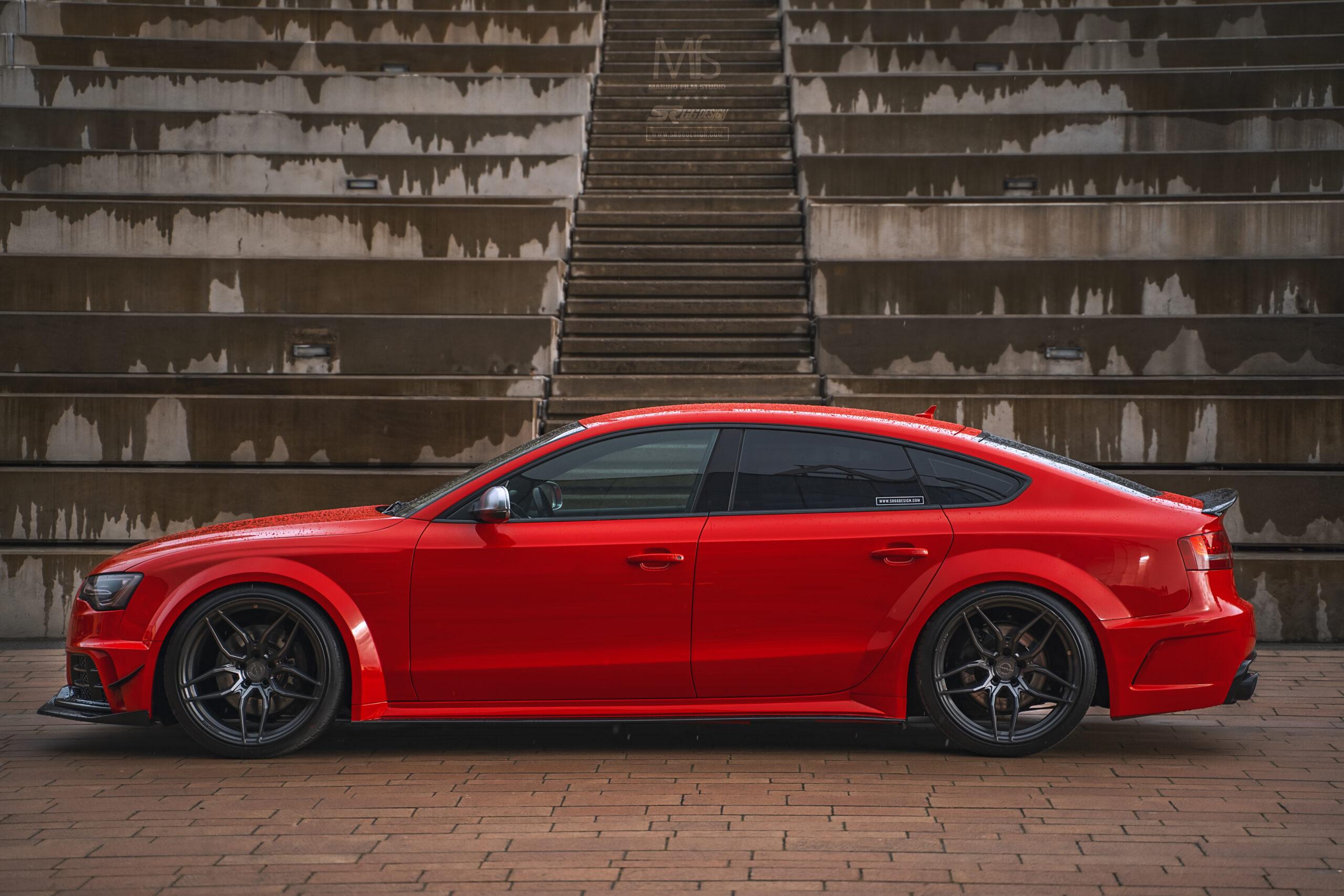 Audi A5 S5 Sportback (8T, B8, B8.5) SR66 wide body kit