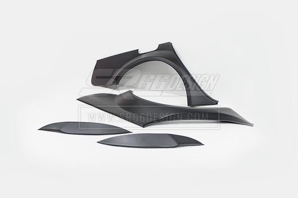 rear quarters - Audi A5/ S5/ RS5 Sportback SR66 wide body kit